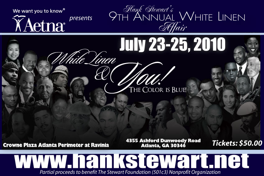 Hank Stewart's 9th Annual White Linen Affair