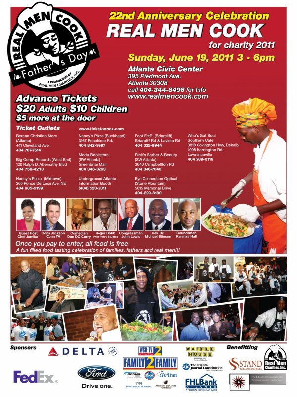 22nd Annual Real Men Cook for Charity Event